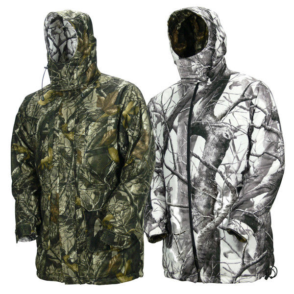 Wholesale Reversible Winter Camouflage Hunting Clothing