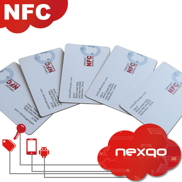 Customized 300gsm Nfc Paper Business Card Buy Business