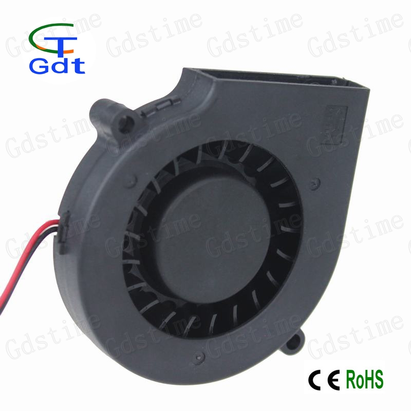 Gdt 24v Dc Electric Exhaust Blower Motor 7515 75x15mm 7.5cm