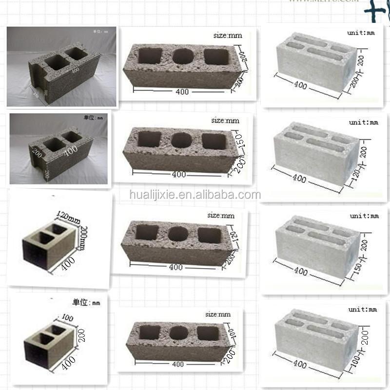 qhl4 25 hueco clsico bloque de hormign molde mquina antigua - Bloques De Hormign