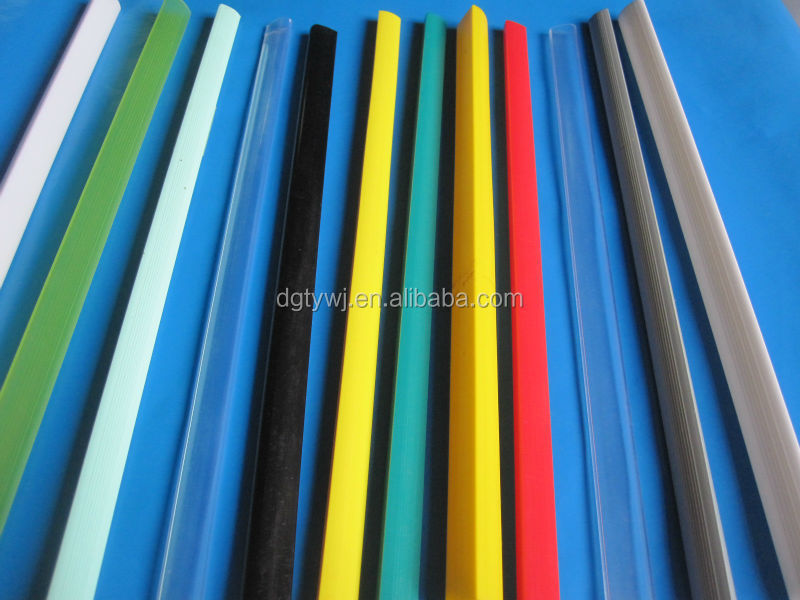 Plastic File Clip,Plastic Paper Clip,Pvc Slide Binder - Buy ...