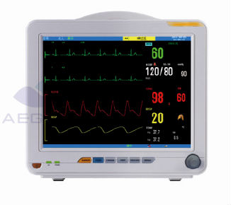 12.1 Inch Multi Parameter Portable Hospital Heart Rate Monitor ...