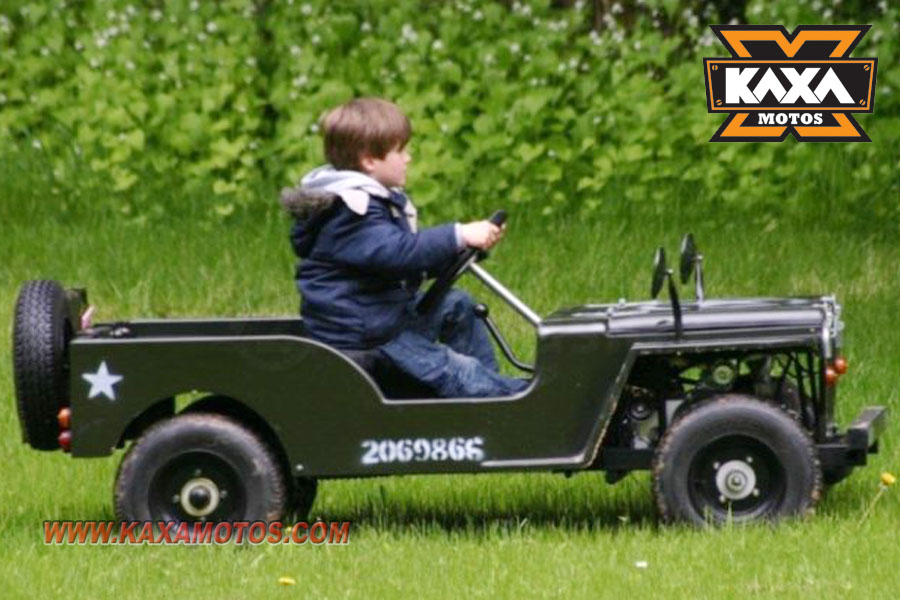 Willys Jeep 110cc Mini Kids Jeep ATV, View willys jeep, Kaxa Motos ...