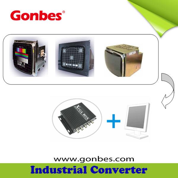 Industrial Monitor Converter Cga/ega/rgb To Vga Converter Gbs8219 ...