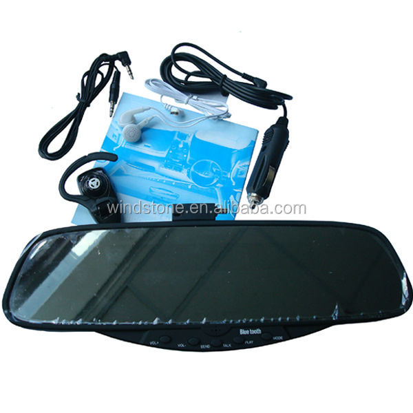 Bluetooth Handsfree Mirror Car Mobile Phone Accessories