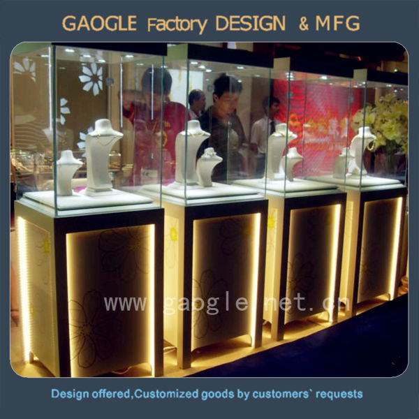 Modern Indian Jewellery Showroom Designs Display Cabinet And ...