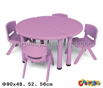ronde en plastique tables et chaises d 39 enfants enfants chaise de table en plastique meubles. Black Bedroom Furniture Sets. Home Design Ideas
