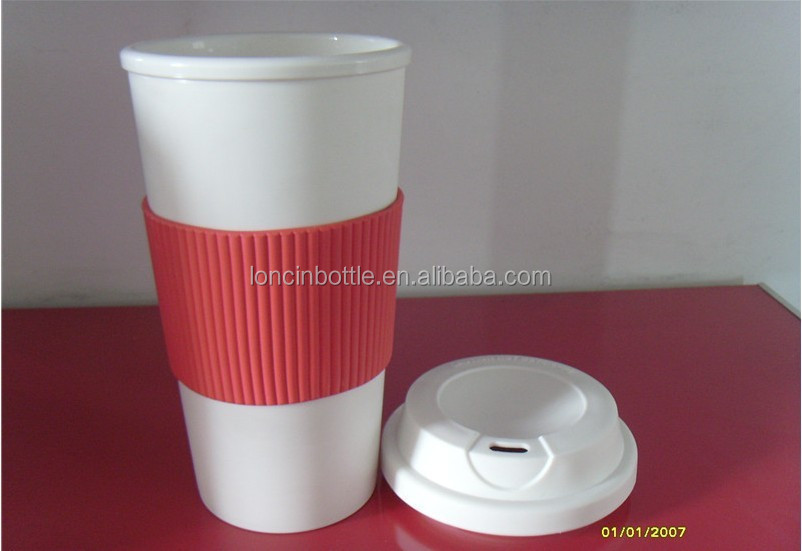 Insulated Thermal Cup Double Wall Reusable Travel Coffee Mug Tumbler Walled