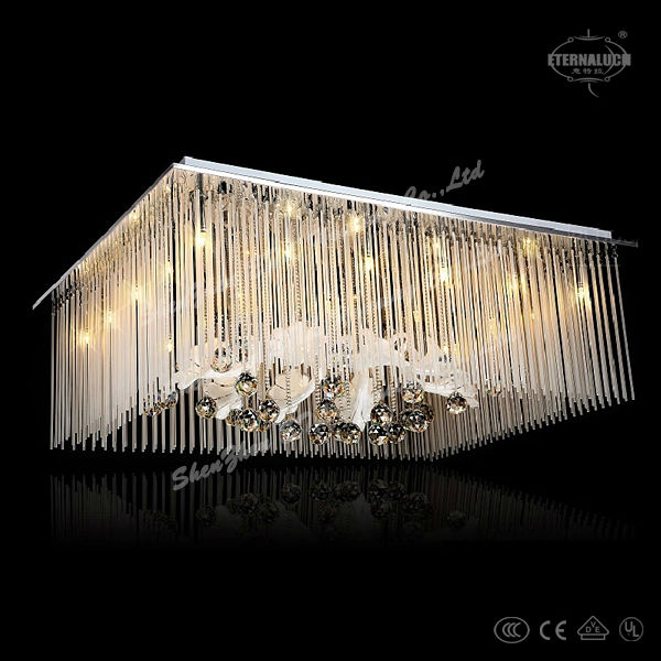 Modern circular ceiling lamps for aluminum chains fairshaped pendant light exquisite lightings ETL60205