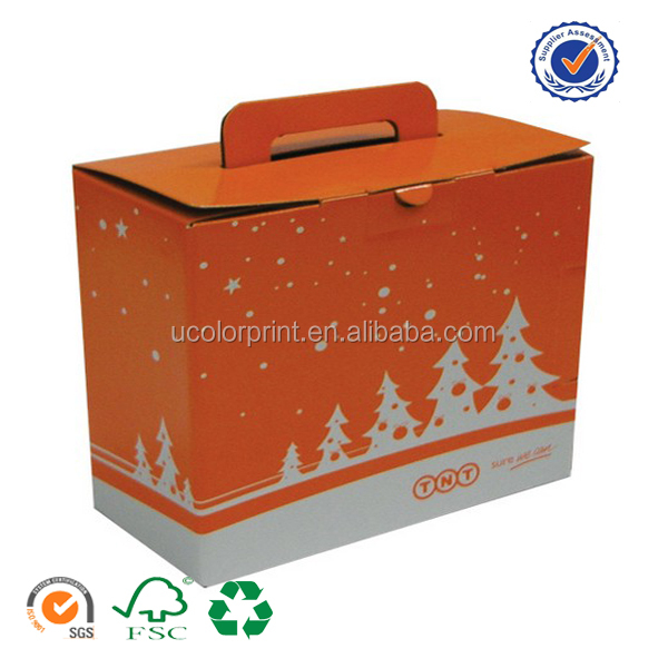 China Manufacturer Folding Carton Boxes With Handles Buy