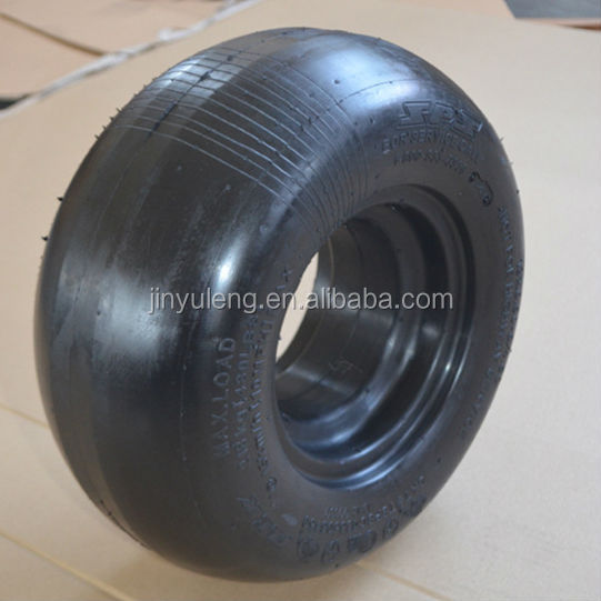 13x5.00-6 lawn mower use semi solid wheel