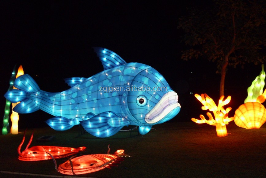 Paper Lantern Animals For Sea Park Lantern Event Buy