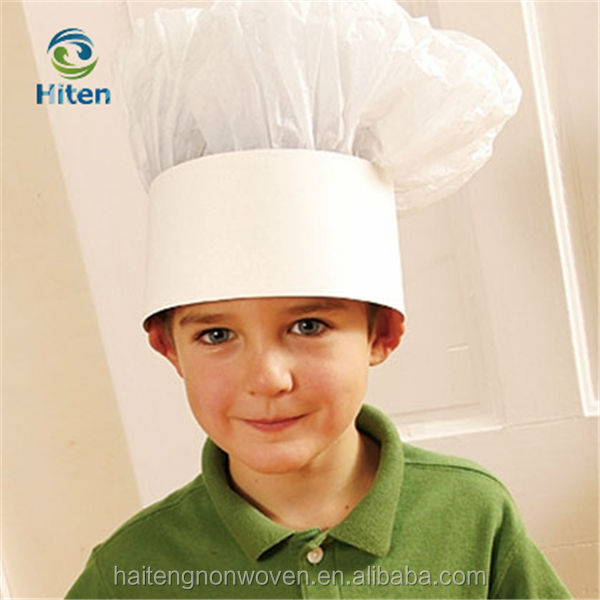 how to make a paper chefs hat