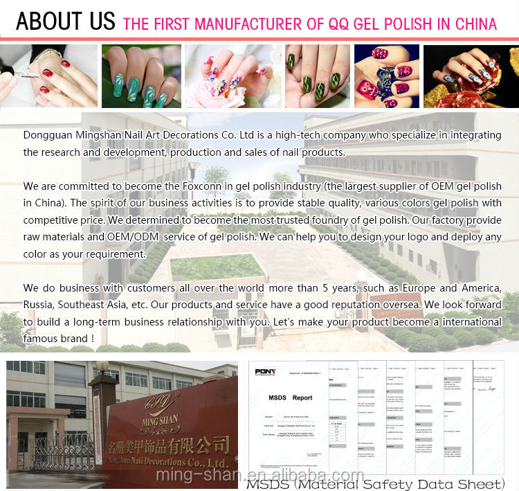China Oem 15ml White Private Label Color Gel Nail Polish Glass ...