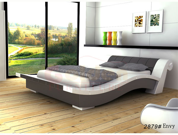 Latest double bed designs italian leather bed and german bed frame g1024 buy latest wooden bed - Double bed design ...