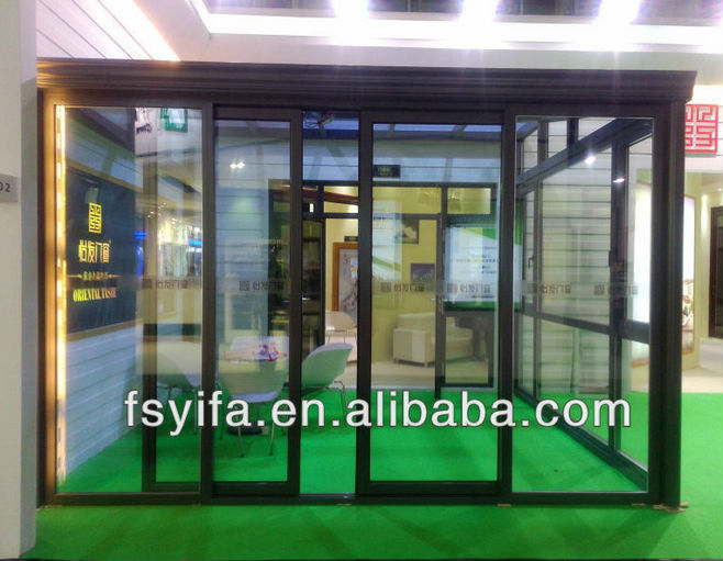 Used Prefabricated Aluminum Sunroom Garden Glass House For Sale ...