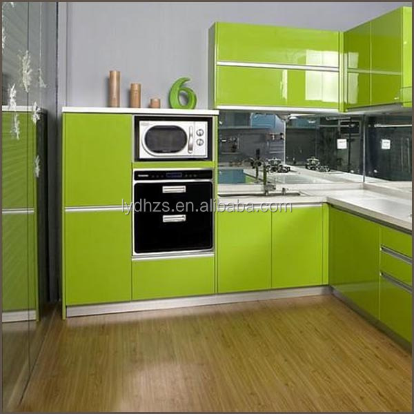 Modular Kitchen Cabinet Acrylic Door Panel