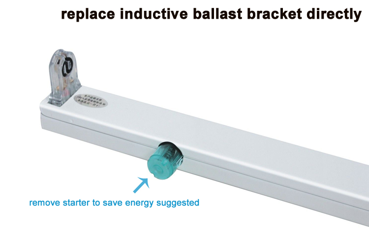 36w 2400mm How To Install A Ballast Components Of Tube Light ...