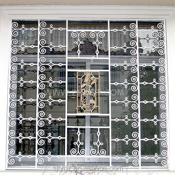The New Design Iron Grill Window Door Designs