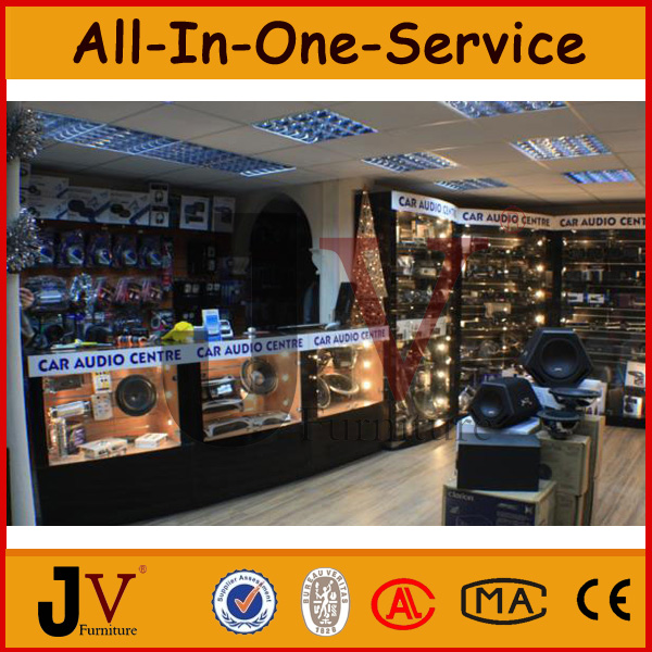 Custom Modern High Quality Automobile Accessory Showroom Interior