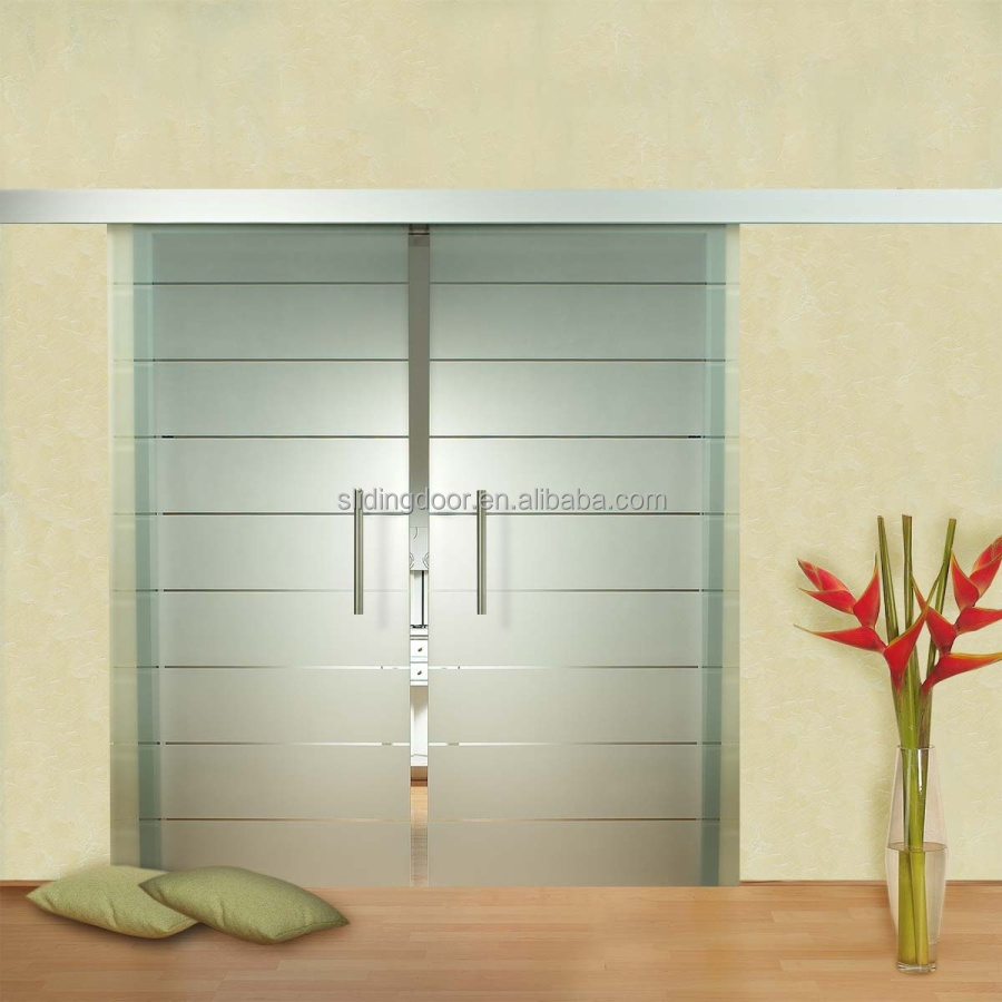 Glass doors design - Interior Position And Glass Door Material Wood Glass Door Design