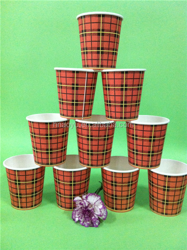 china manufacturer food grade custom logo disposable single wall paper coffee cups