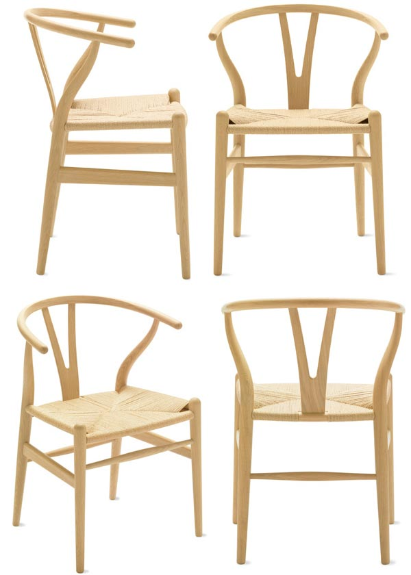 Perfect Modern Hans Wegner Oak/ash /beech Wooden Y Chair HOME FURNITURE