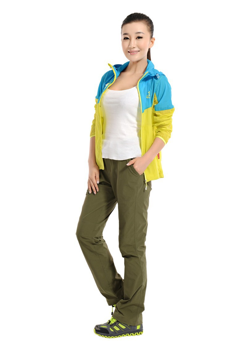 Elastane Best Selling Women Hiking Quick Dry Pants