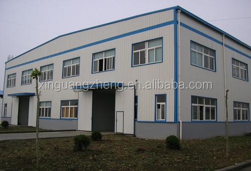 prefabrication design metallic industrial building manufacturer steel structure