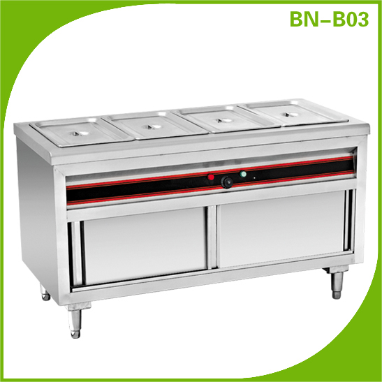 COSBAO Restaurant Kitchen Equipment Restaurant Catering Free standing  Electric Food Warmer(CE Approval ) - Cosbao Restaurant Kitchen Equipment Restaurant Catering Free