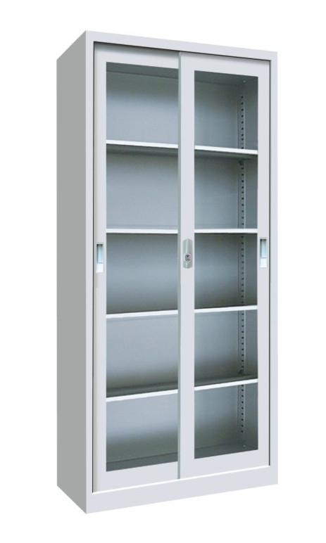 Glass Stainless Steel Bookcase Sliding Doors Buy Glass