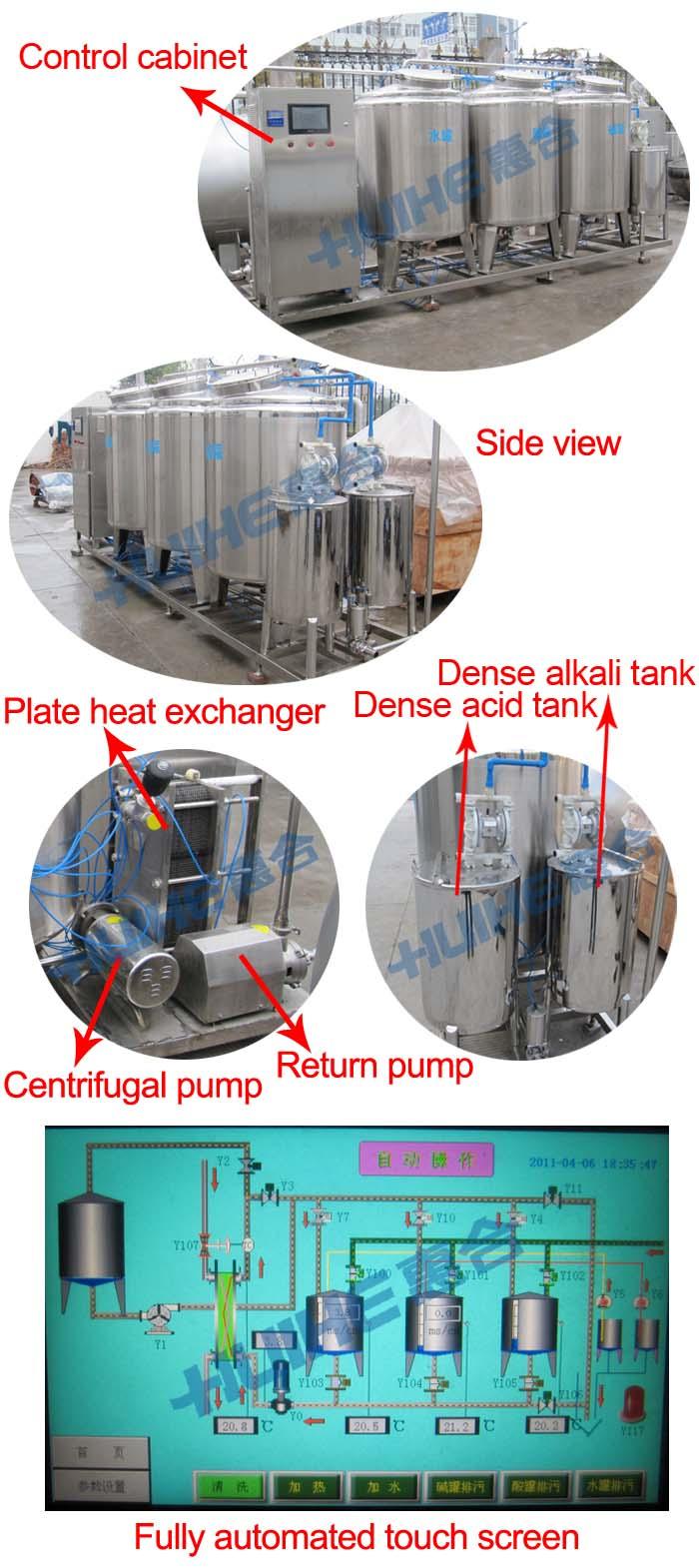 Industrial Cip Washing Machine