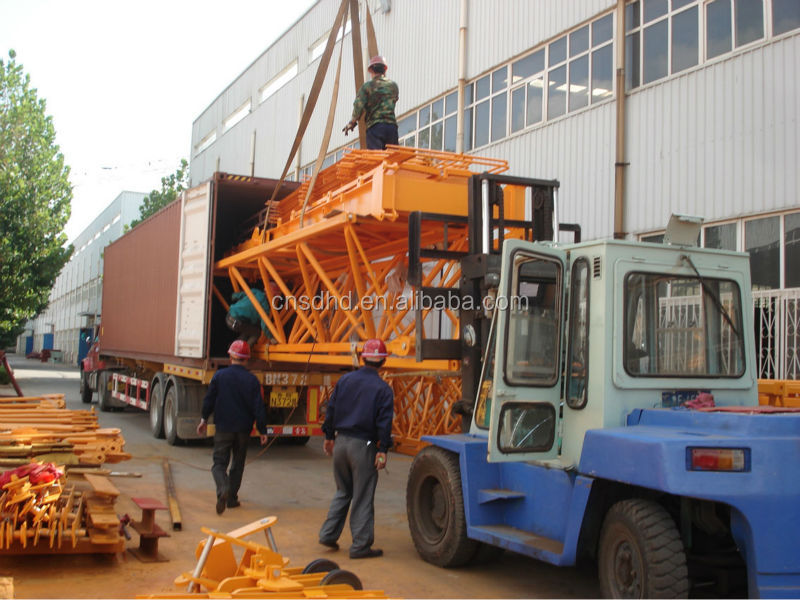 6t topkit tower crane tower crane for sale
