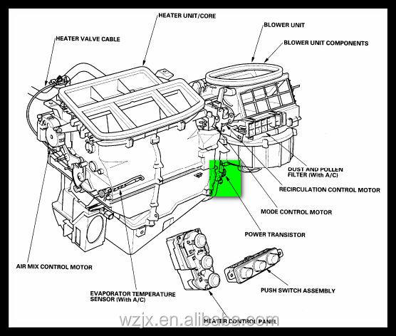 china auto parts blower motor renault logan oem no
