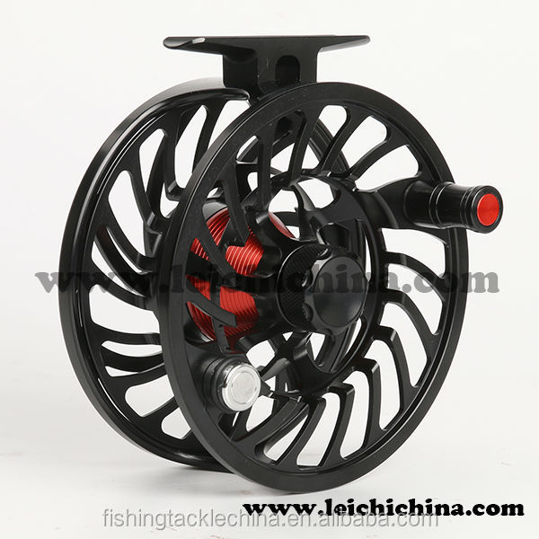 Large arbor chinese saltwater cnc salmon fly fishing reel for Chinese fishing reels