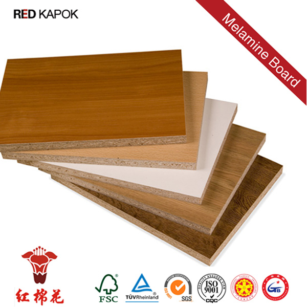 Laminated Particle Board ~ Melamine faced particle board laminated veneer hpl