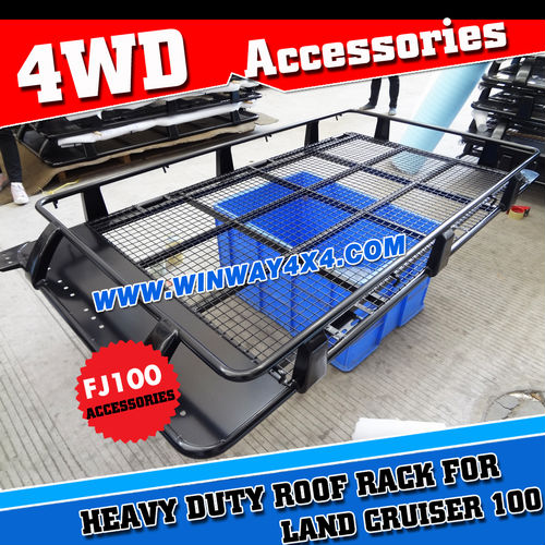 China Powder Coated Steel 4x4 Roof Cage Roof Rack For