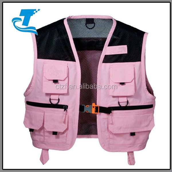 Hot sale girls fishing vest buy fishing vest fishing for Women s fishing vest