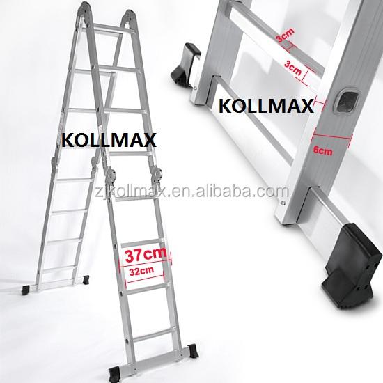 Aluminio multiusos combinaci n escalera 3 7 metros 4x3 for Escaleras 8 metros precio