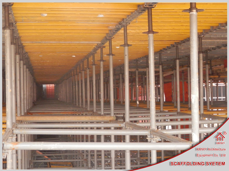Quick Install Steel Slab Plywood Formwork System For