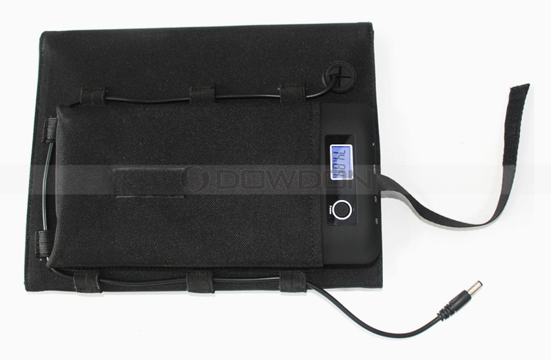 20W 18V Laptop Tablet Charger Solar Phone Chargers for Sony Nokia LG HTC