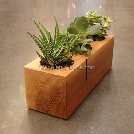 Little Wooden Plant Wooden Flower Holder Stand Pot Buy
