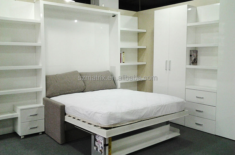 Space saving wall bed space saving furniture price bed for Schrankbett ikea