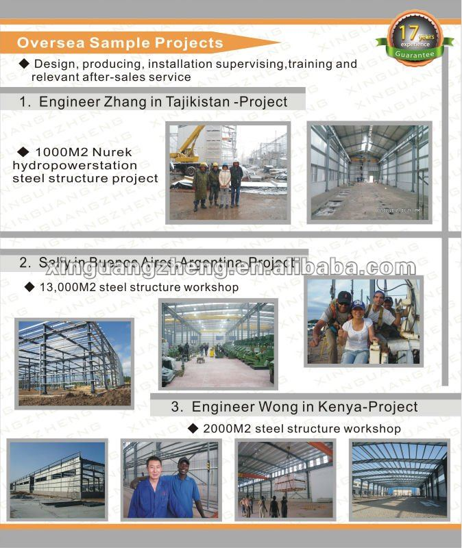 construction design prefabricated steel structure warehouse portal space frame structure easy install warehouse