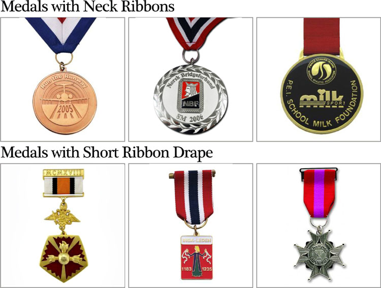 Custom Military Medal Ribbons Iraq Commitment Medal