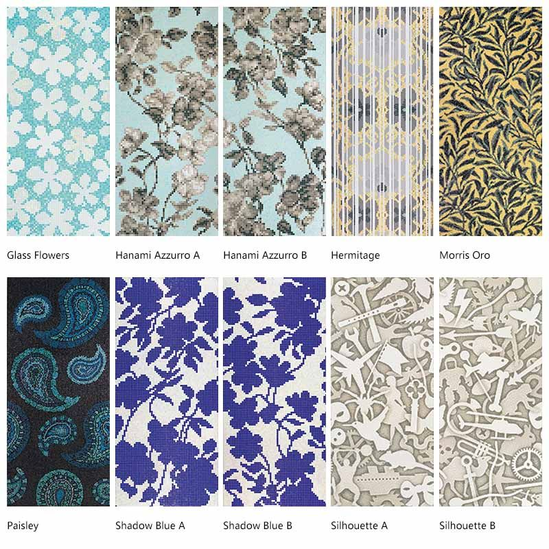 Decorative wall tiles outdoor decor art mosaic tiles for Mosaic tile wall designs
