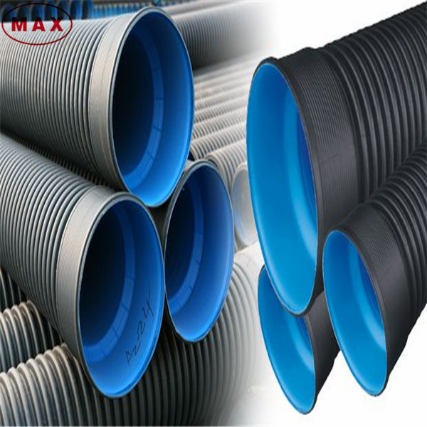 Steel Band Reinforced Pe Drainage Pipe,Spiral Corrugated Pipe ...