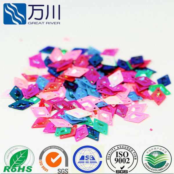 6*11 Diamond Shape Sequins for decoration and celibration