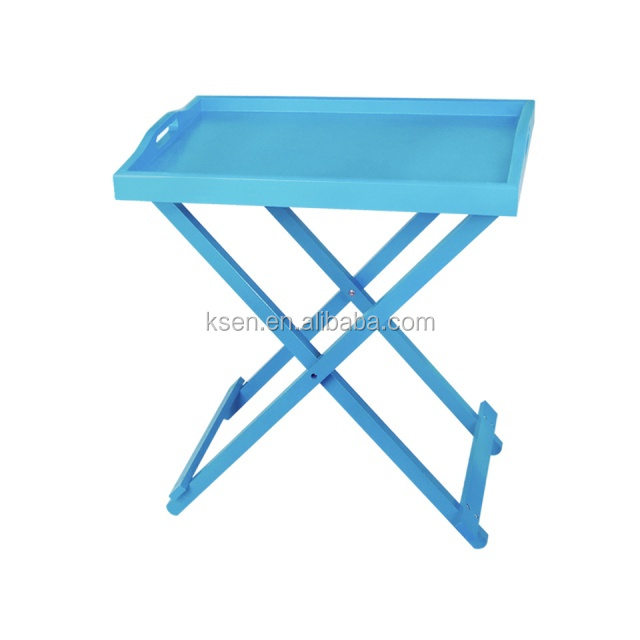 High Quality Plastic Folding Tray Table KC T322