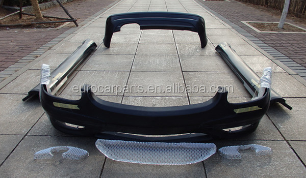 high quality body kit for benz slk class r170 amg style